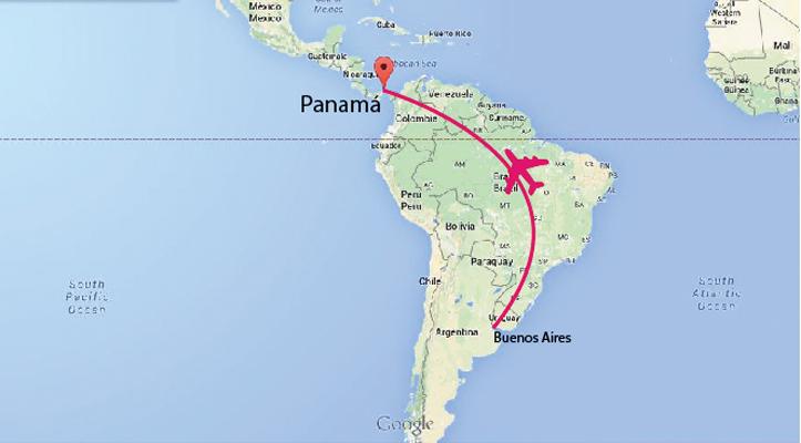mapa panama hb