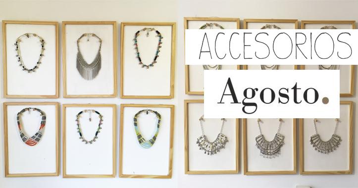 Colección Alegría de Agosto Accesorios