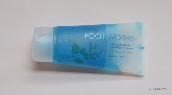 Reseña: Gel Revitalizante para pies y piernas Foot Works de Avon