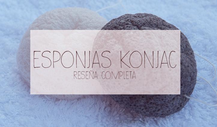 Review: esponjas Konjac original